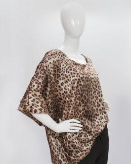 Tuniek – leopard bruin